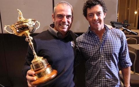<span>Paul McGinley has criticised Rory McIlroy's decision which could rule him out of the Ryder Cup captaincy in the future</span> <span>Credit: Action Images </span>