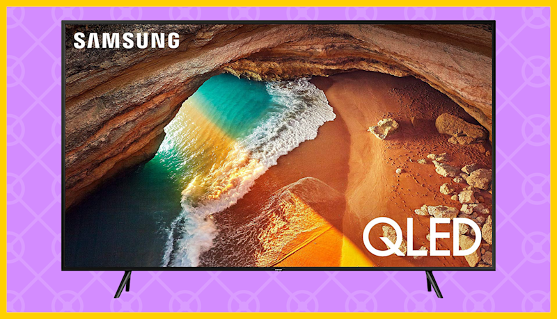 Save $150 on this Samsung Flat 75-inch QLED 4K Q60 Series Ultra HD Smart TV. (Photo: Amazon)
