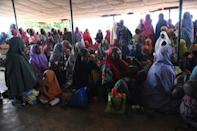 Most of those displaced by the bandit violence are women and children (AFP/PIUS UTOMI EKPEI)