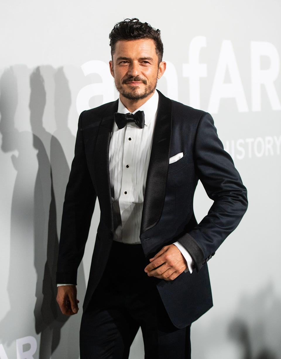 Orlando Bloom attends the Cannes Gala 2021