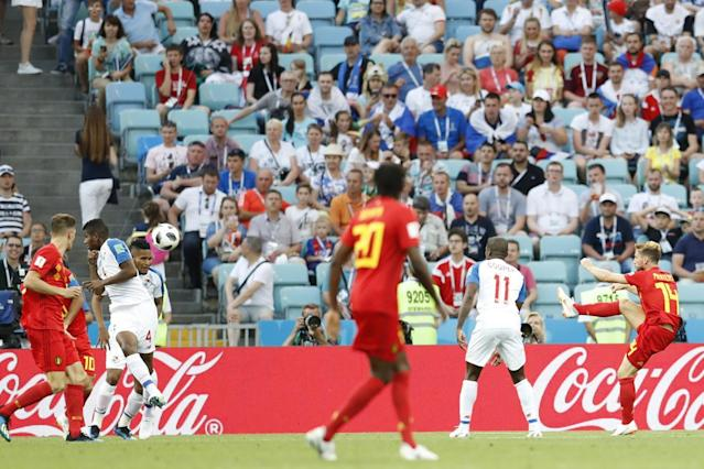 Belgium 3 Panama 0: Romelu Lukaku double downs World Cup debutants in Group G opener