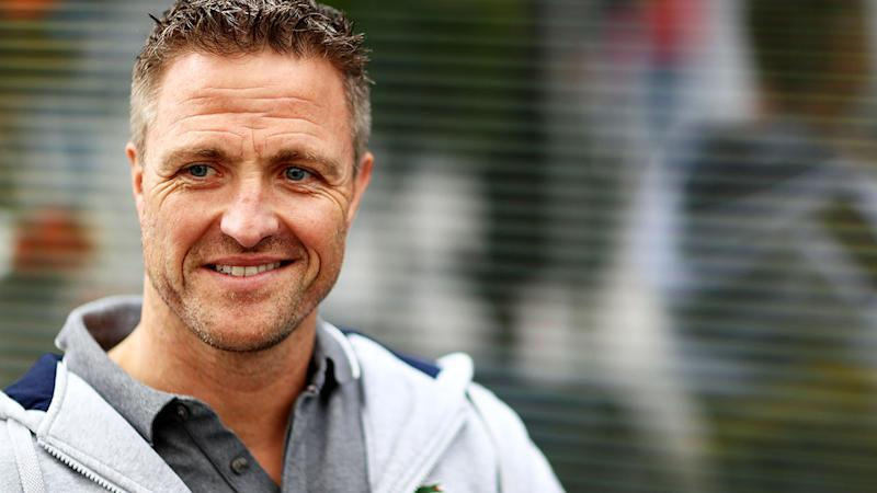 Ralf Schumacher, pictured here in the Paddock during the Russian Grand Prix.