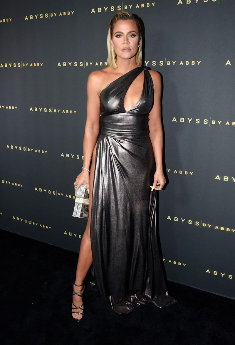Khloe Kardashian at Abyss By Abby - Arabian Nights Collection Launch Party