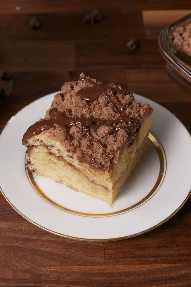 """<p>Baileys, chocolate and coffee? Yes, please. </p><p>Get the <a href=""""https://www.delish.com/uk/cooking/recipes/a34723670/baileys-chocolate-coffee-cake-recipe/"""" rel=""""nofollow noopener"""" target=""""_blank"""" data-ylk=""""slk:Baileys Chocolate Coffee Cake"""" class=""""link rapid-noclick-resp"""">Baileys Chocolate Coffee Cake</a> recipe.</p>"""