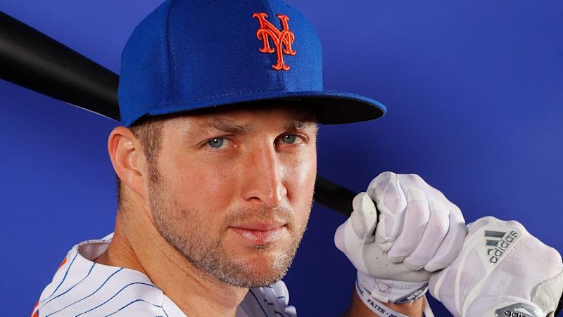Tim Tebow homers on first pitch in Double-A debut