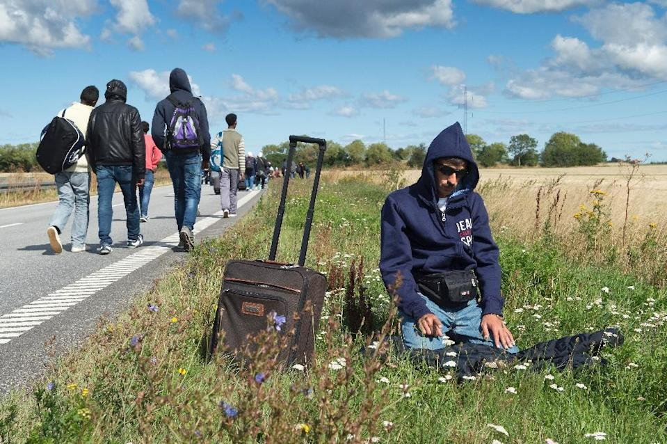 Denmark received more than 21,000 asylum applications last year, a 44 percent jump from 2014. (AFP Photo/Jens Nørgaard Larsen)