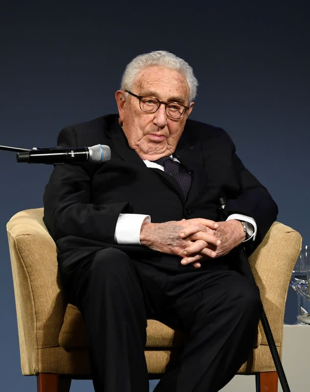 FILE PHOTO: American Academy's Henry A. Kissinger Prize award ceremony in Berlin