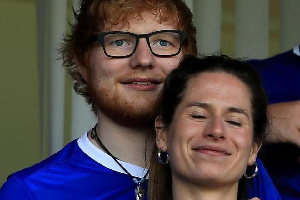 Ed Sheeran and Cherry Seaborn (Getty Images)