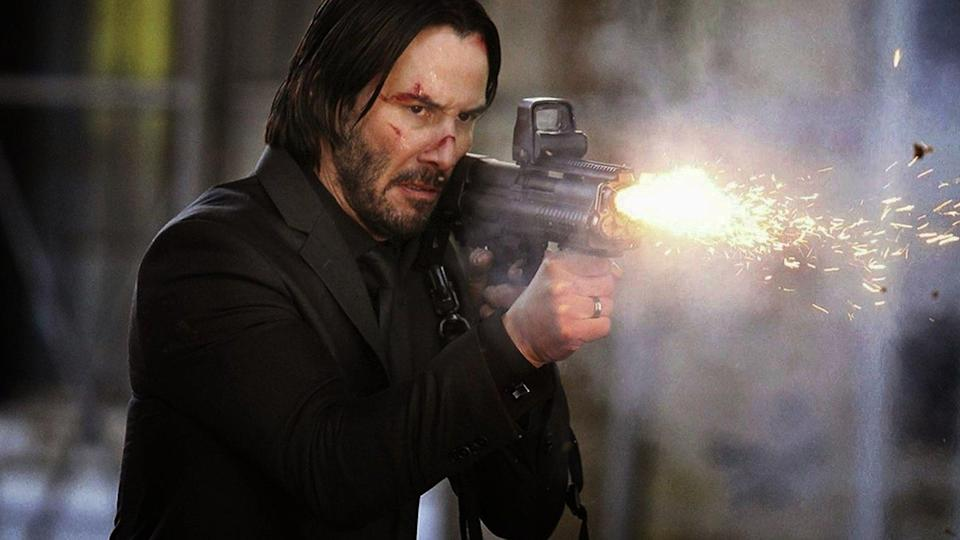 Keanu Reeves is ready for action (credit: Lionsgate)