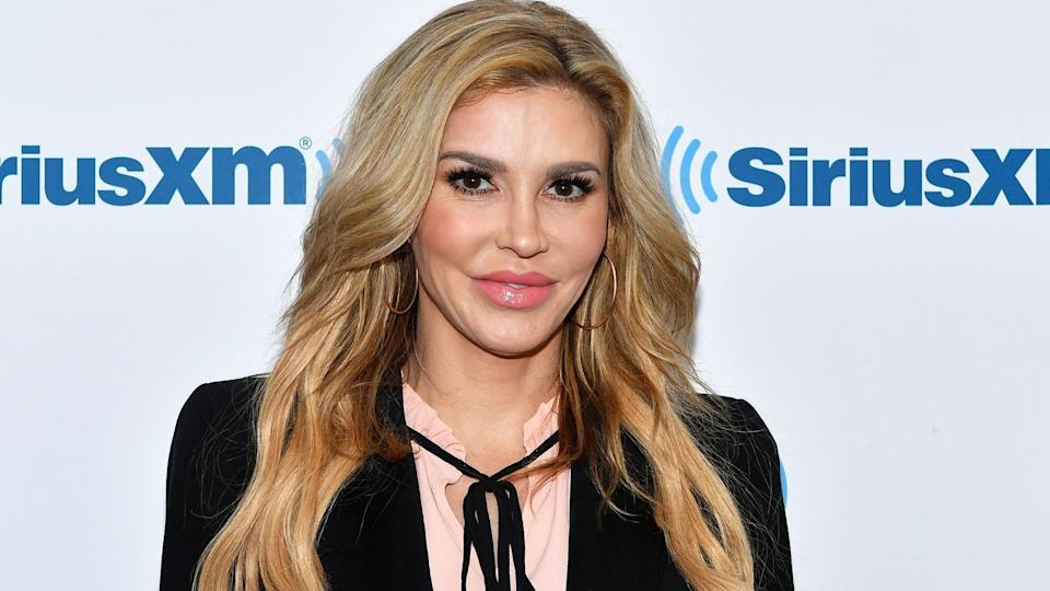 Brandi Glanville is making headlines after sharing an insensitive tweet to Twitter about Armie Hammer. (Image via Getty Images).
