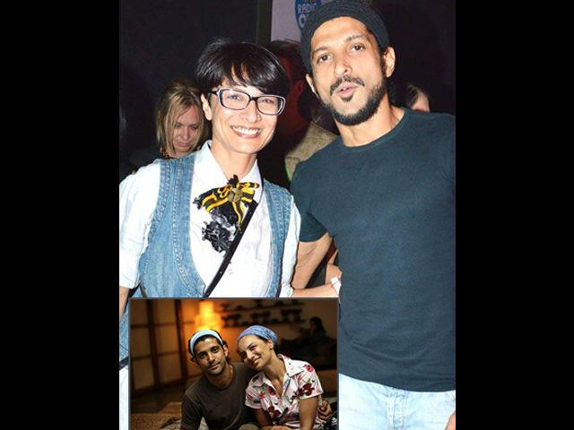 <b>3. Farhan Akhtar- Adhuna Bhabani</b><br> Director-turned-actor, Farhan Akhtar is married to Adhuna Bhabani who is six years older than him. Adhuna met Farhan when he was still writing the script for Dil Chahta Hai. They got married in the year 2000 and are blessed with two daughters.