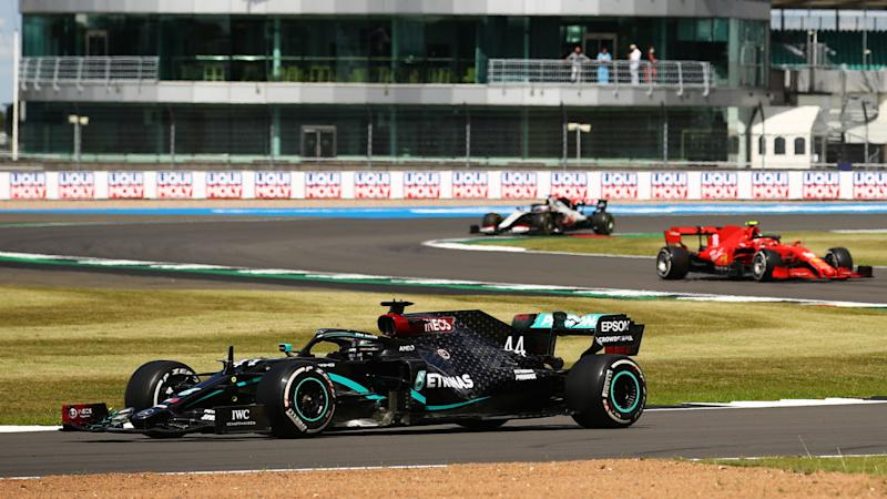 F1 2020: Hamilton limps to dramatic home win, puncture costs Bottas