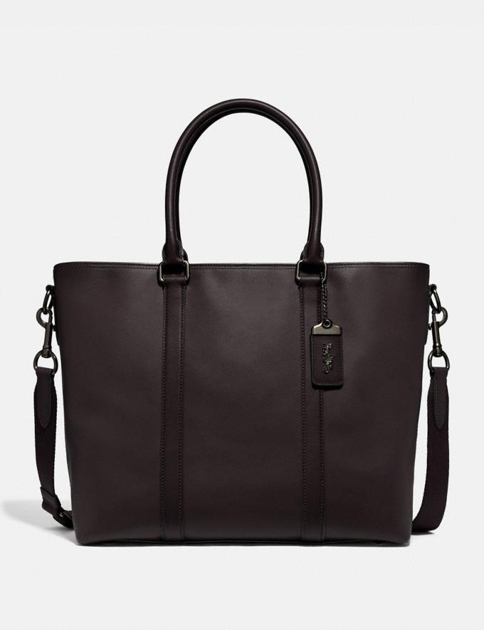 The Metropolitan Tote is on sale for Black Friday at Coach, $390 (originally $650).