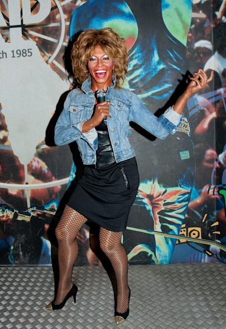 Wax figure of Tina Turner