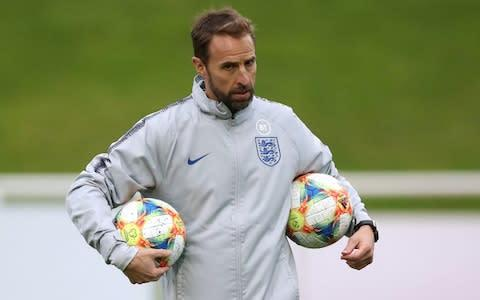 <span>Got his hands full: Gareth Southgate</span> <span>Credit: Action Images via Reuters </span>
