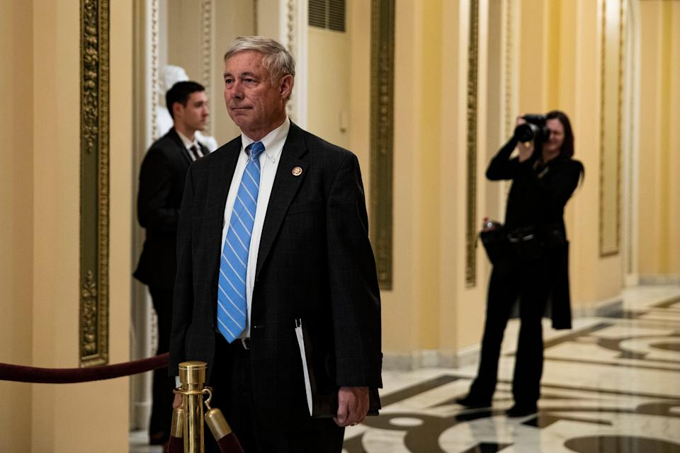 <p>File: Republican Fred Upton on Sunday lashed out at his GOP colleagues for trying to downplay the 6 January Capitol insurrection</p> (Getty Images)