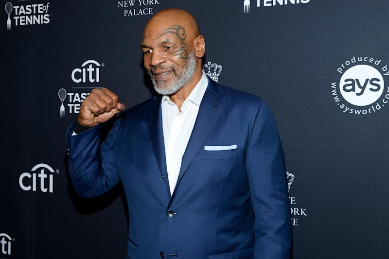 Mike Tyson will stare down an actual shark and his own fears about getting older in a new Shark Week special. (Photo by Noam Galai/Getty Images for AYS Sports Marketing)