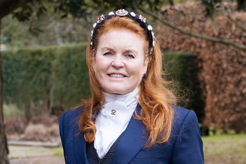 """<p>The Duchess of York said: """"I am proud to bring my personal brand of historical fiction to the publishing world""""</p> (Handout)"""