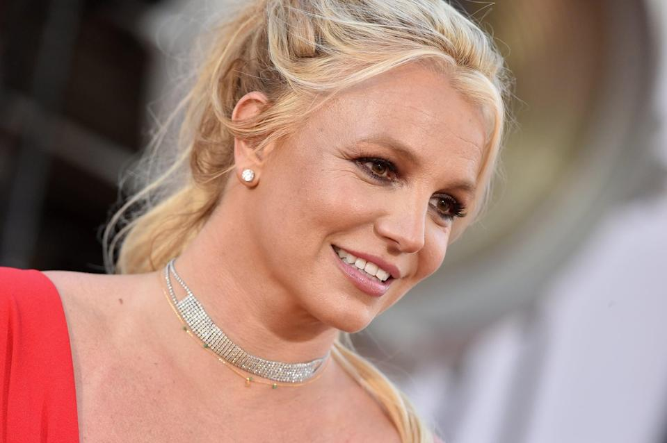 HOLLYWOOD, CALIFORNIA - JULY 22: Britney Spears attends Sony Pictures'