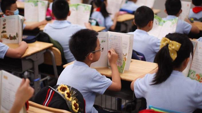 Children Attend First Writing Ceremony In Nanjing