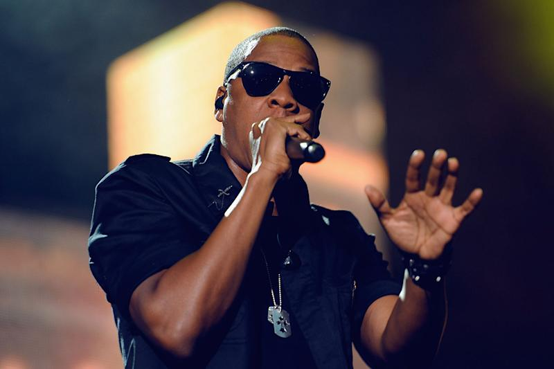 Defending: Jay-Z denies accusations of anti-Semitism: Ian Gavan/Getty