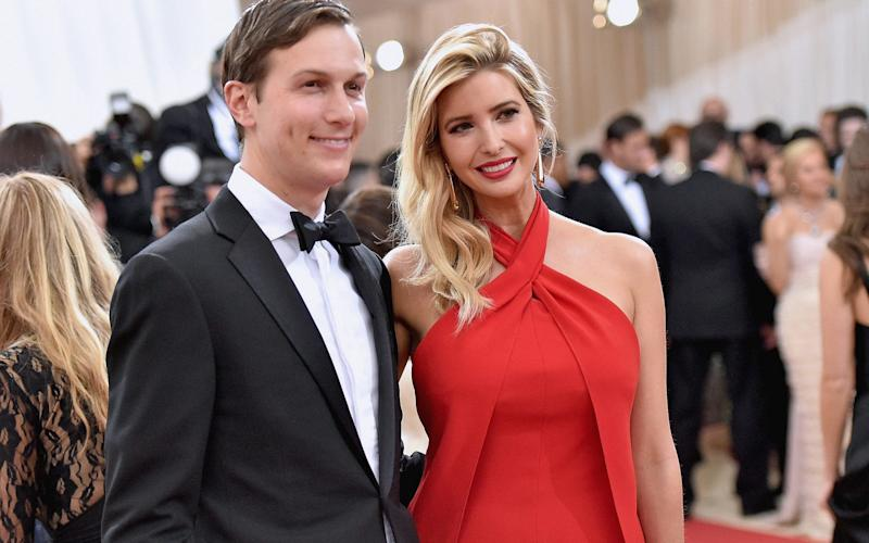 Jared Kushner and wife Ivanka Trump - Credit: 2016 Getty Images/2016 Getty Images