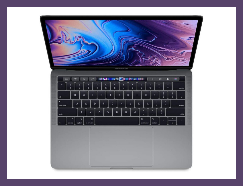 The Apple MacBook Pro (mid-2019) in Space Gray. (Photo: Apple)
