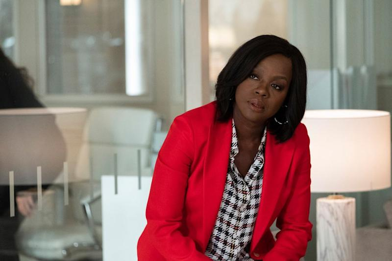 Viola Davis an Annalise on How to Get Away with Murder.   Gilles Mingasson via Getty