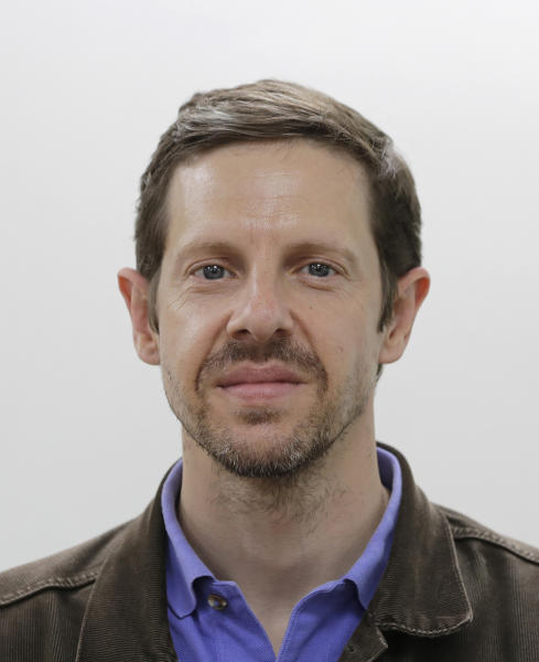 This Wednesday, June 19, 2019, photo shows Foster Klug, news director for Japan, the Koreas, Australia and the South Pacific, in Seoul, South Korea. Klug, AP's bureau chief in Seoul, South Korea, is being promoted to news director for Japan, the Koreas, Australia and the South Pacific. (AP Photo/Lee Jin-man)