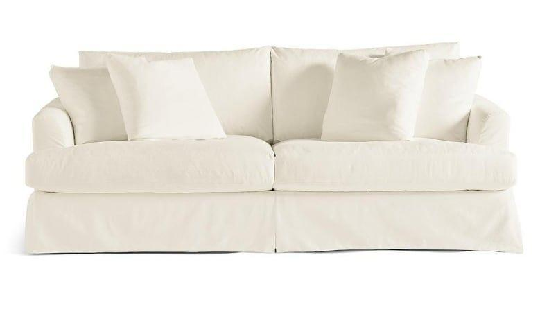 The brand sells replacement slipcovers for this sofa--just in case you ever want to give it a new look.