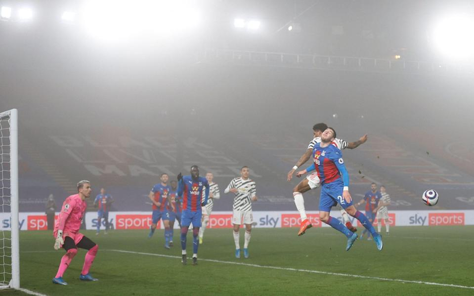 Crystal Palace vs Manchester United - AFP
