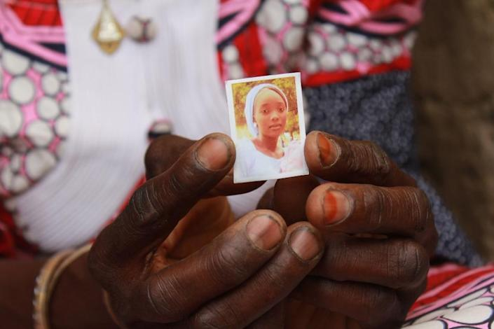 Kabu, one of the 112 abducted Chibok girls who are still missing (AFP Photo/Audu Ali MARTE)