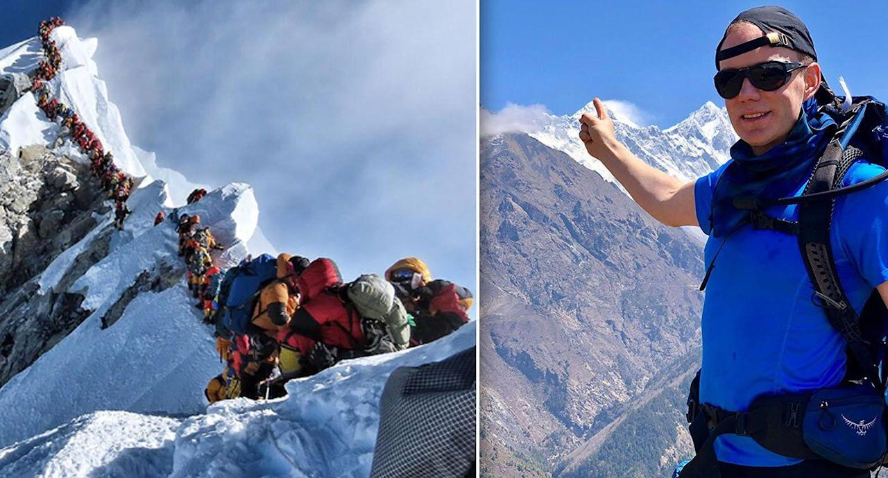 Robbie Fisher Mount Everest climber who fell to his death