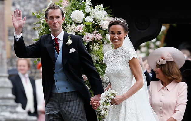 Pippa Middleton married James Matthews on Saturday. Photo: Getty