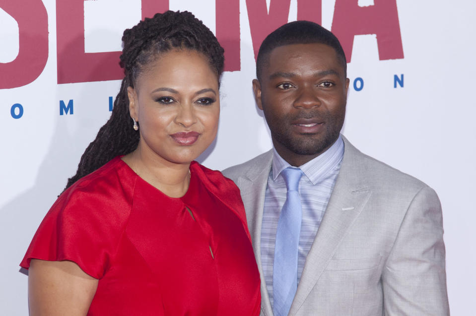 Ava DuVernay and David Oyelowo at the New York premiere of <em>Selma</em>. (Photo: Lars Niki/Corbis via Getty Images)