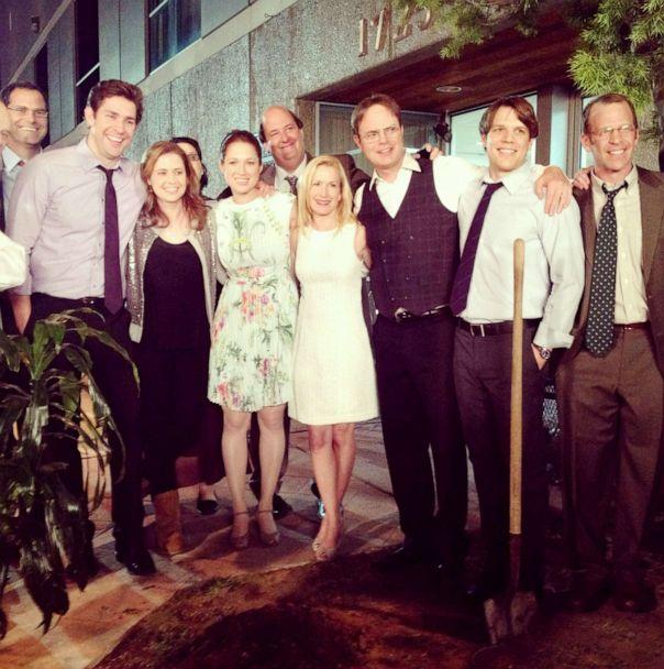 PHOTO: Angela Kinsey with the entire cast of 'The Office.' (Courtesy of Angela Kinsey)