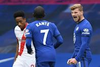 Timo Werner scored twice for Chelsea against Southampton