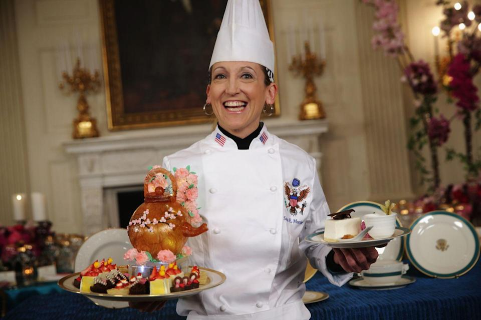 <p>Susan Morrison is the chef and mastermind behind today's desserts served at the White House. </p>