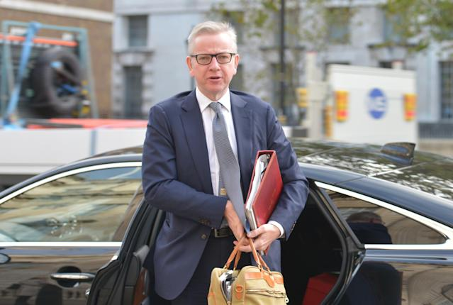 Chancellor of the Duchy of Lancaster Michael Gove hit out at the EU over a lack of progress in post-Brexit trade deal negotiations. (PA)