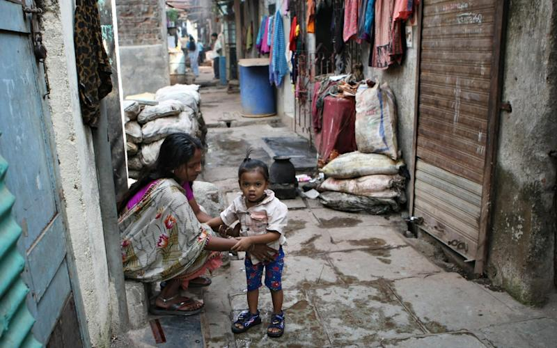 The sprawling Dharavi slum in Mumbai just became the favourite tourist experience of 2019 in India and even beat the Taj Mahal, according to a poll - AFP