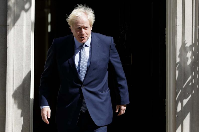 """Boris Johnson is prepared to brush aside legal warnings and Parliament over Brexit because October 31 date is """"set in stone"""", a minister has said (AP)"""
