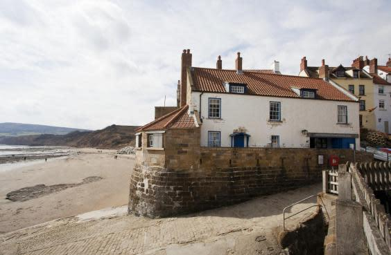 The Boatman's Loft is situated six miles up the coast from Whitby (National Trust)