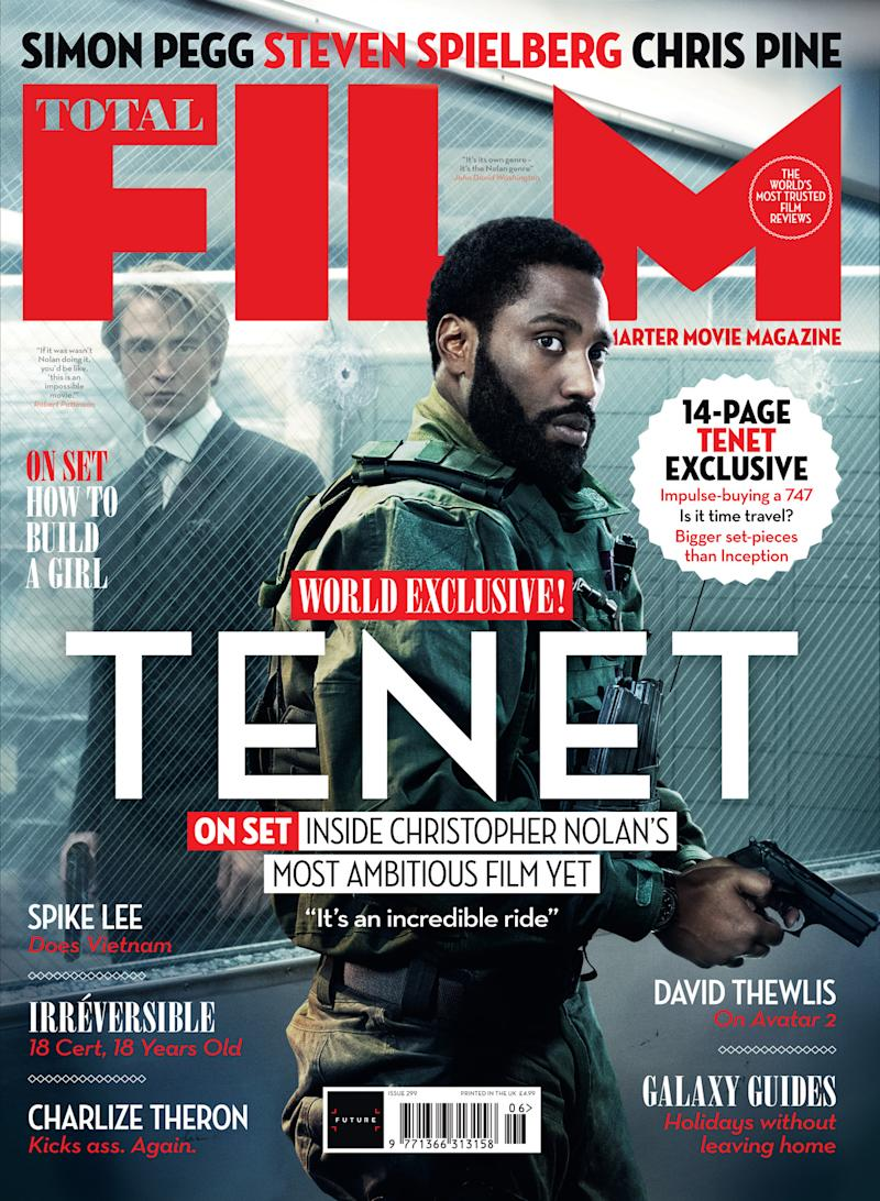 Total Film's Tenet cover