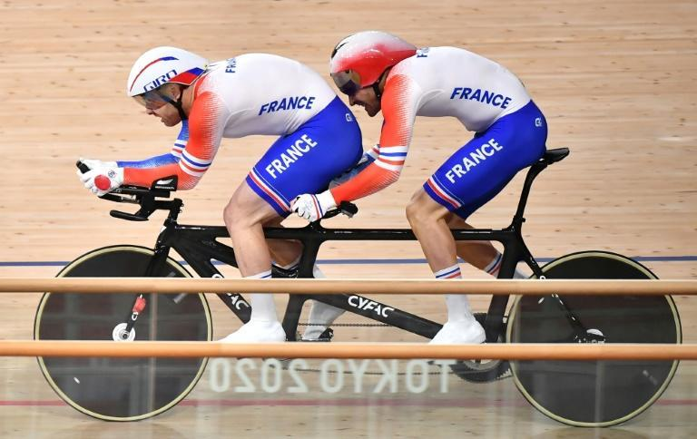 France's Raphael Beaugillet laments that para sports don't get equal access to training facilities (AFP/Kazuhiro NOGI)