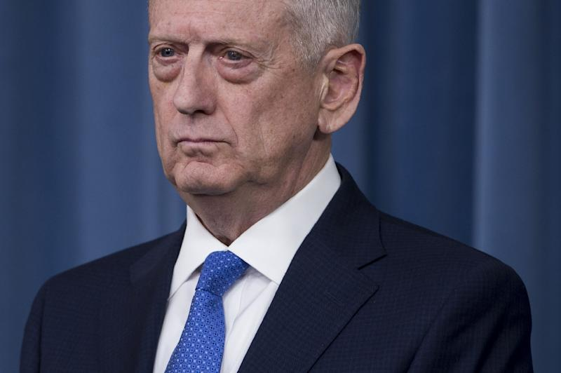 """You kill a leader of one of these groups and it sets them back,"" Pentagon chief Jim Mattis told reporters"