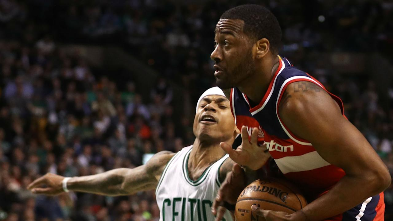The Celtics and Wizards have gone after each other repeatedly in the past two seasons. Now they'll meet with something at stake.