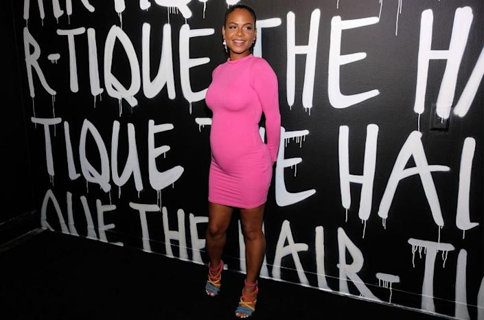 Sarah Morris/Getty Images<br>Christina Milian attends The Hair-Tique presented by Phil On Hair at Goya Studios on Sept. 21, 2019 in Los Angeles.