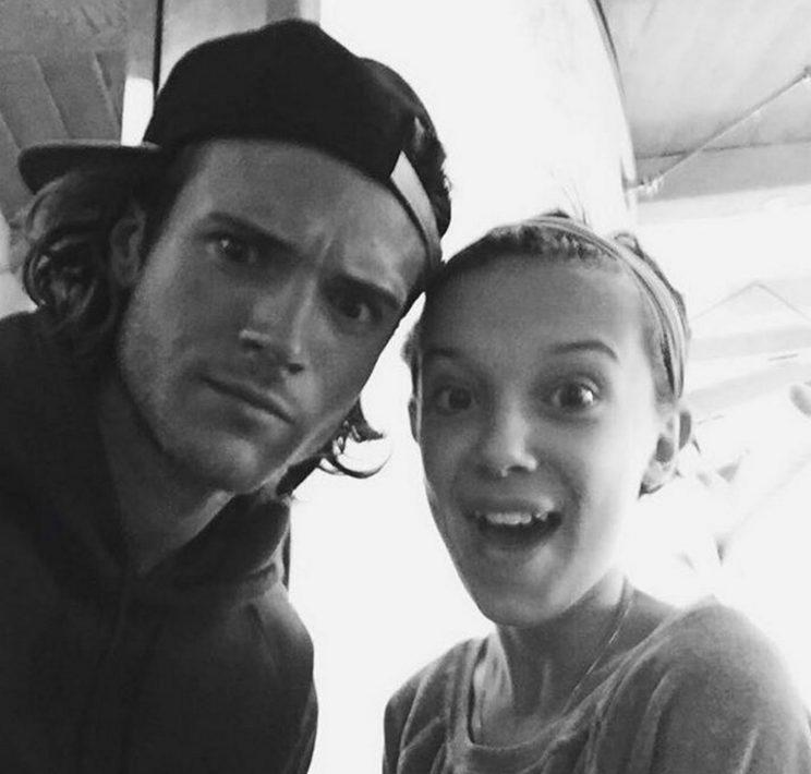 <p>Annnnd with McFly hunk Dougie Poyner – we don't know who we're more jealous of.</p>
