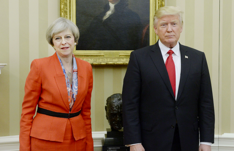 Trump to visit United Kingdom in July for bilateral talks with Theresa May