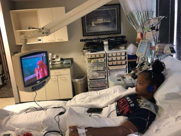 PHOTO: Jurnee Farrell's blood stem cell donation was a match to potentially save the live of a 57-year-old woman with acute lymphoblastic leukemia. (J.Farrell/Howard University)